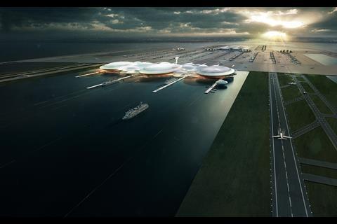 Gensler Estuary airport